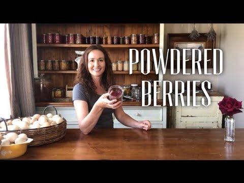 How to make Berry Powder