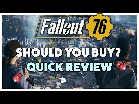 Fallout 76 - Should You Buy Review in 30 Seconds thumbnail