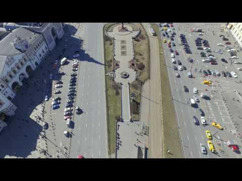 Площадь трех вокзалов BestMaps спутниковые фотографии