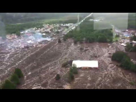 Landslide devastate small Chilean town