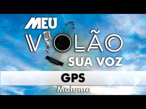 Maluma - GPS (KARAOKE) (VIOLÃO) Instrumental
