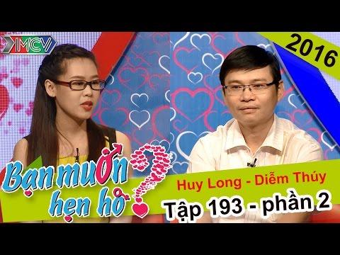 Chuyện hẹn hò dễ thương của cặp đôi chênh nhau 10 tuổi | Huy Long - Diễm Thúy | BMHH 193