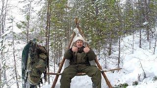 ТАЁЖНОЕ КРЕСЛО своими руками .  hand made chair from tiga hunter