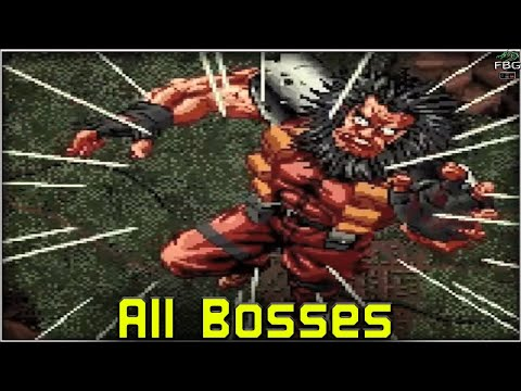 Shock Troopers - All Bosses |