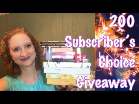 200 Subscriber's Choice Giveaway!!! (CLOSED) thumbnail