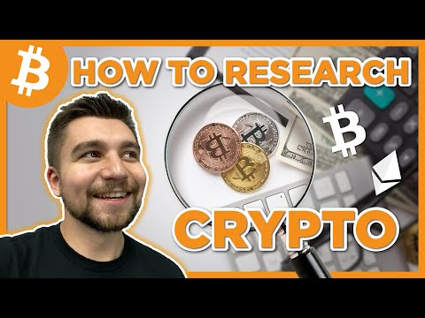 How To Research Cryptocurrencies
