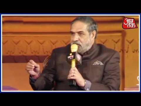Drama Happening In The Name Of Demonetisation: Anand Sharma At Agenda Aaj Tak