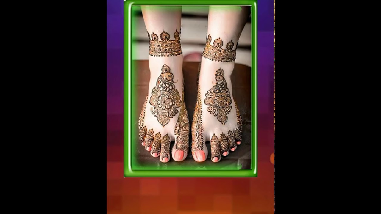 Mehndi For Thin Hands : Simple mehndi designs thin offline youtube