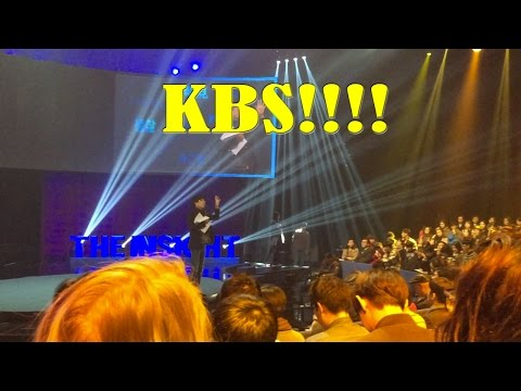 A trip to Korean Broadcasting System (KBS) in Seoul! | South Korea VLOG February 27, 2016