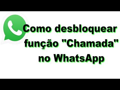 Como desbloquear função de chamadas no Whatsapp
