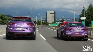 The Chase to the Gumball 3000 Finish Line in Tokyo!