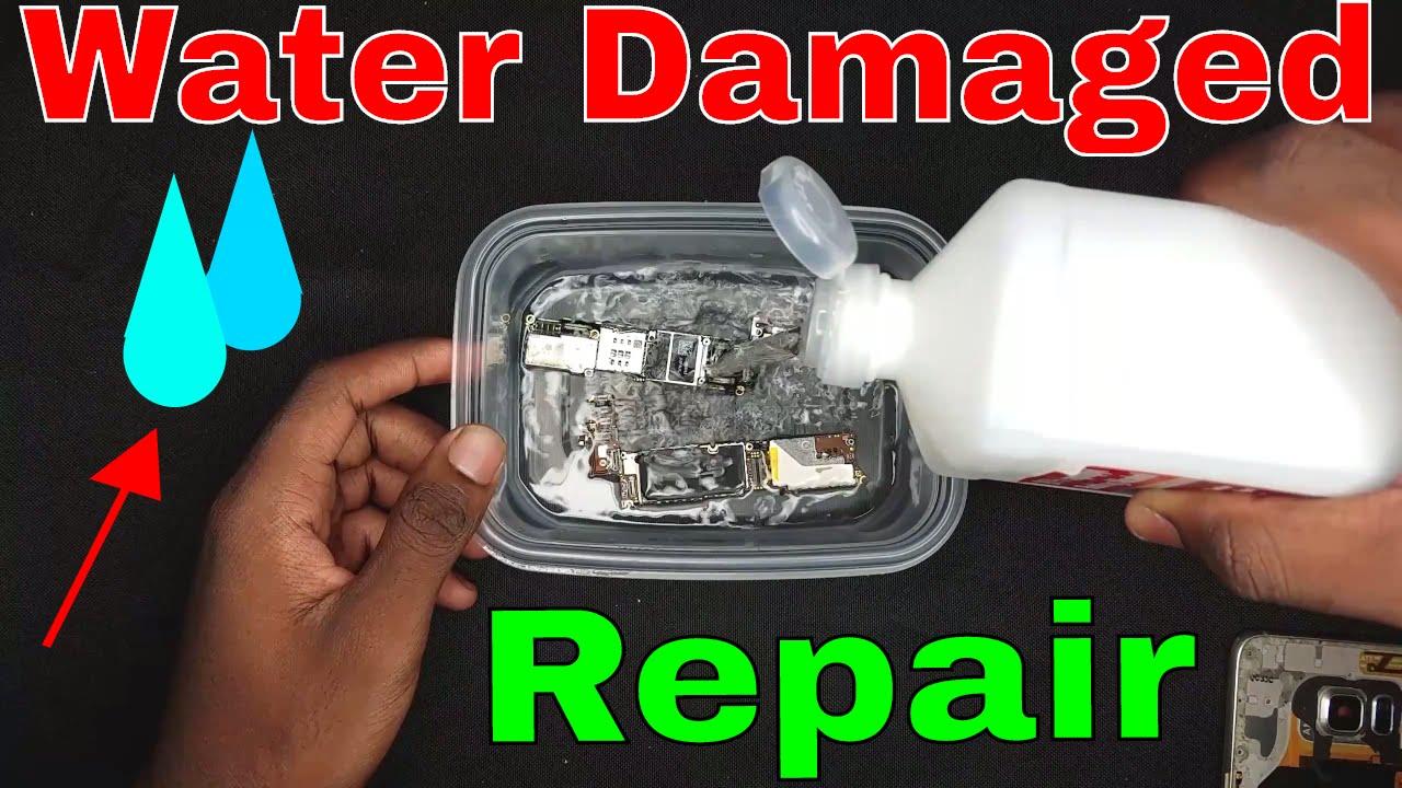How To Repair Water Damaged Phone