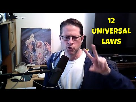 12 Universal Spiritual Laws - LOA Is One Of These