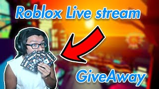 🔴Roblox jailbreak minigames🔴|Roblox Gift Card GiveAway|Roblox family friendly| #RoadTo 2.4k subs