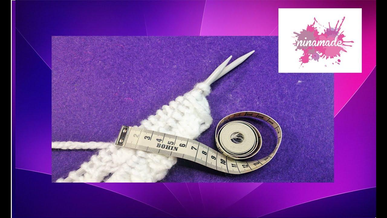 comment calculer les mailles pour tricoter