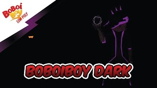Boboiboy Dark - Boboiboy low poly