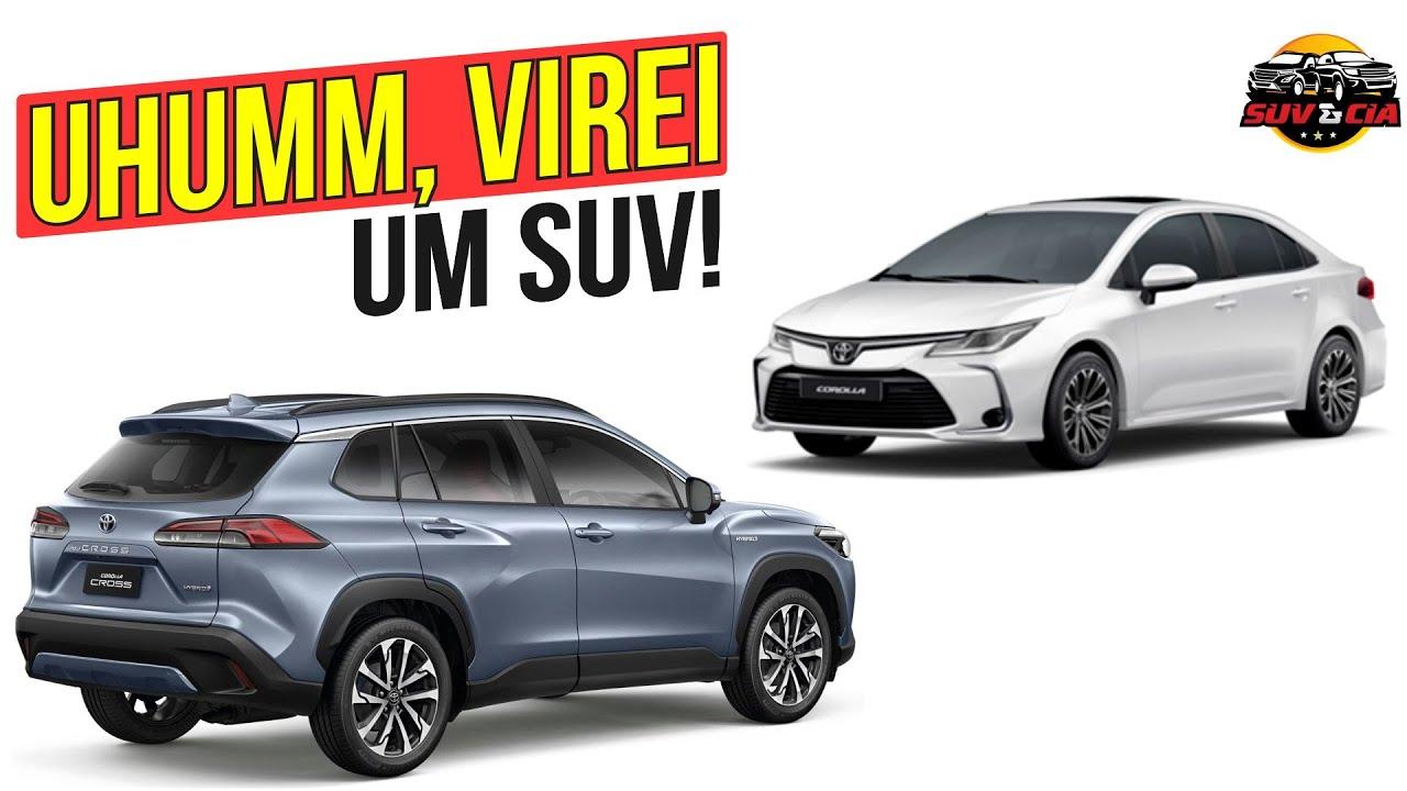 COROLLA CROSS É O NOVO SUV DA TOYOTA NO BRASIL EM 2021.