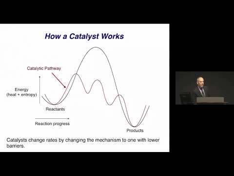 John Hartwig, UC Berkeley: Accelerating Chemical Synthesis with Catalysis (2018)