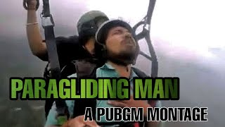 PARAGLIDING MAN - PUBG Mobile Montage - Tripping Point !