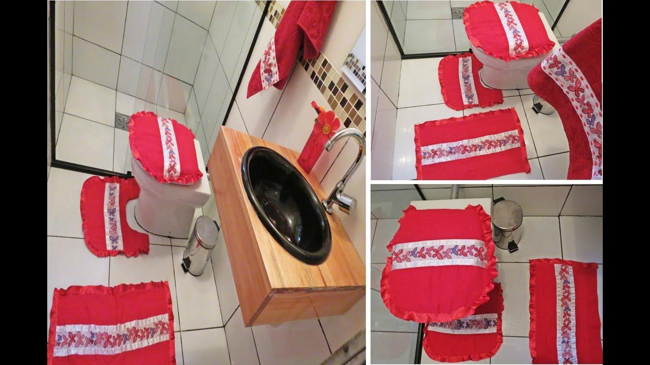 Diy Tapetes para banheiro feito de toalha.Faça vc mesma.   #AC1F31 1569 1033