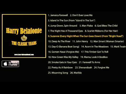 Harry Belafonte - The Classic Years Album Pre-Listen [Official]