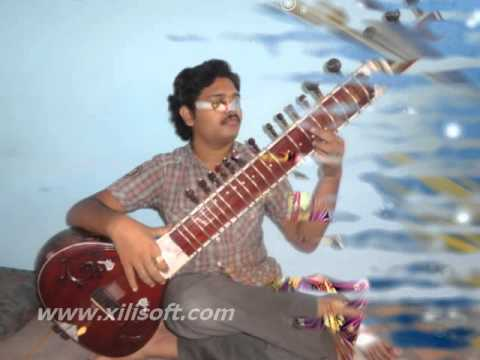 BRAHMA MURAARI SONG IN SITAR PLAYED BY SANDEEP M MUSIC DHARWAD