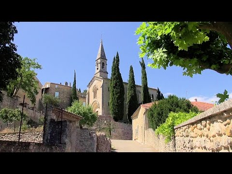 La Roque-sur-Cèze - a beautiful village, France Provence (Gard Provençal) [HD] (videoturysta.eu)