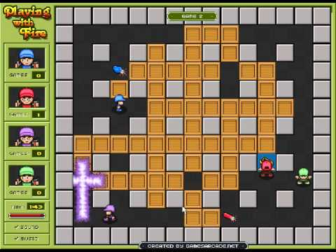Bomberman Playing With Fire