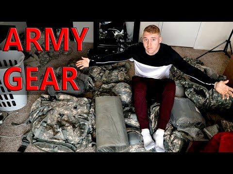 What Gear You Get Issued In The Army