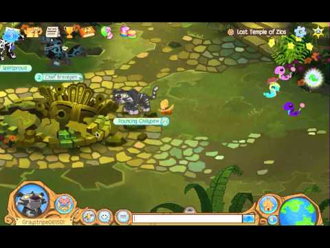Animal Jam: Lost Temple of Zios