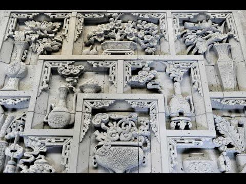 Chinese brick carving: Exquisite sculptures carved entirely out of brick