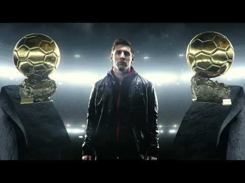 Leo Messi -- There Will Be Haters -- adidas Football