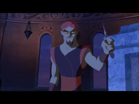 The Evil Goddess Magically Changed To Sinbad And Stole The Paper Of Peace