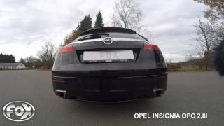 Opel insignia OPC 2,8l