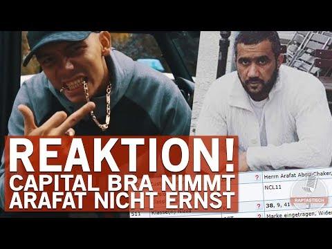 "Capital Bra reagiert auf Arafats Markeneintragung von ""Capital bra"" !"