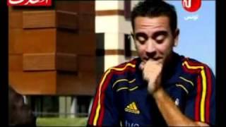 تشافي يتحدث عن اللاعبين المسلمين في برشلونة