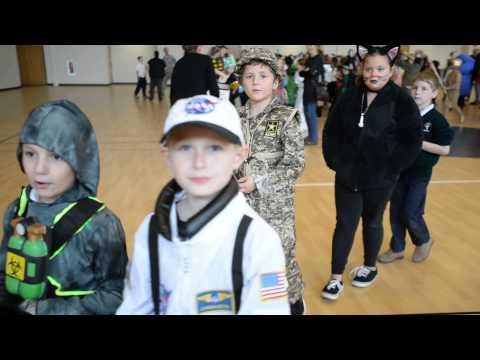 Saint Patrick School Halloween Parade, October 30, 2015.