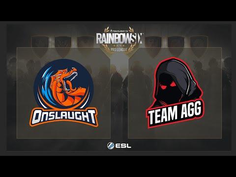 R6S - Onslaught ESports   Vs. Team AGG  - ESL Rainbow Six Pro League On XBOX ONE NA Play Day 5