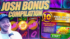 Online Slots Bonus Compilation!! Razor Shark, Fat Santa, Jammin Jars and more!!