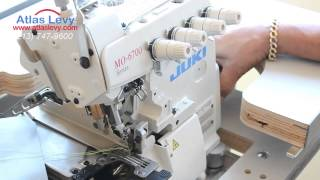 Juki MO 6714S High-speed, 4-thread overlock machine- sewing merrow