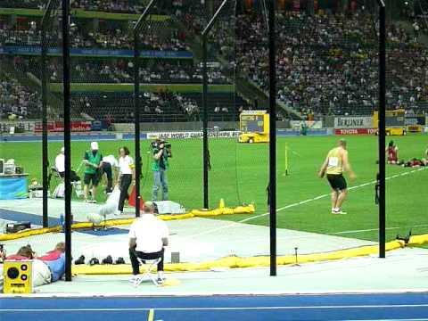 Robert Harting finale first throw 68,25m
