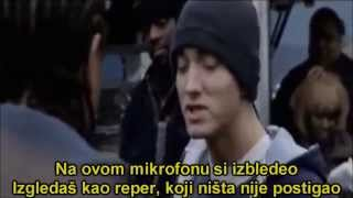 8 Mile - Eminem Vs. Xzibit freestyle (Srpski Prevod)