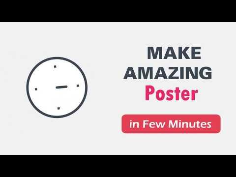 Flyers, Posters, Banner, Logo Maker, Designs App Tutorial 2020