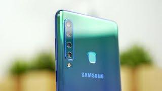 Das Samsung Galaxy A9 kommt mit ganzen vier Kameras! Doch führen me...