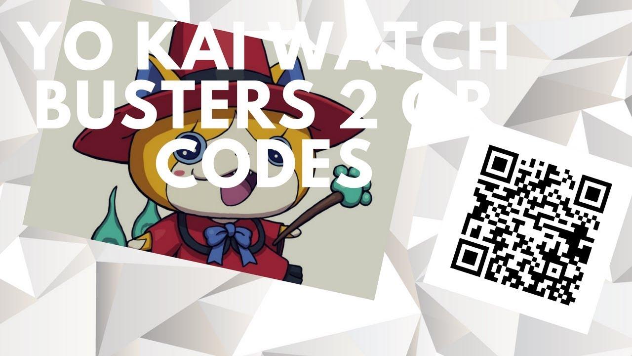 Yo Kai Watch 2 Qr Codes