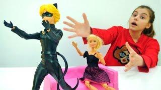Видео для девочек с Суперкотом - свидания куклы Барби