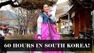 60 Hours In South Korea (NO SLEEPING!) | Laureen Uy