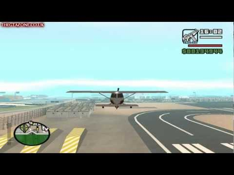 GTA San Andreas - Mission #81 - Freefall (HD)
