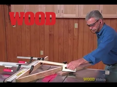 Top 12 Must Have Jigs For Your Tablesaw - (#12) Cove Cutting Jig - WOOD magazine