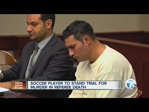 Soccer player to stand trial for murder in referee death